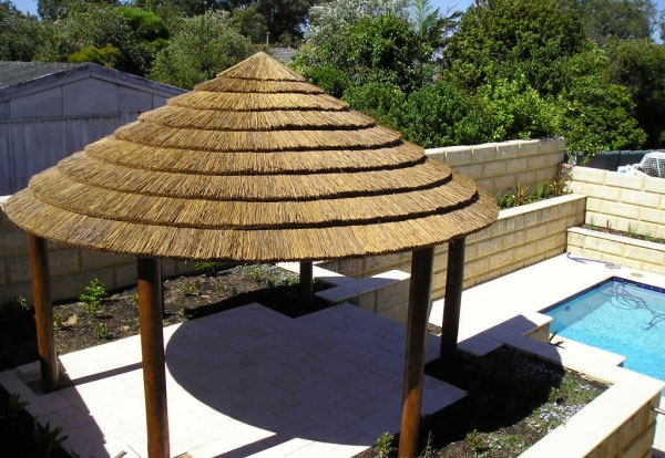 5 Pole Thatched Roofs